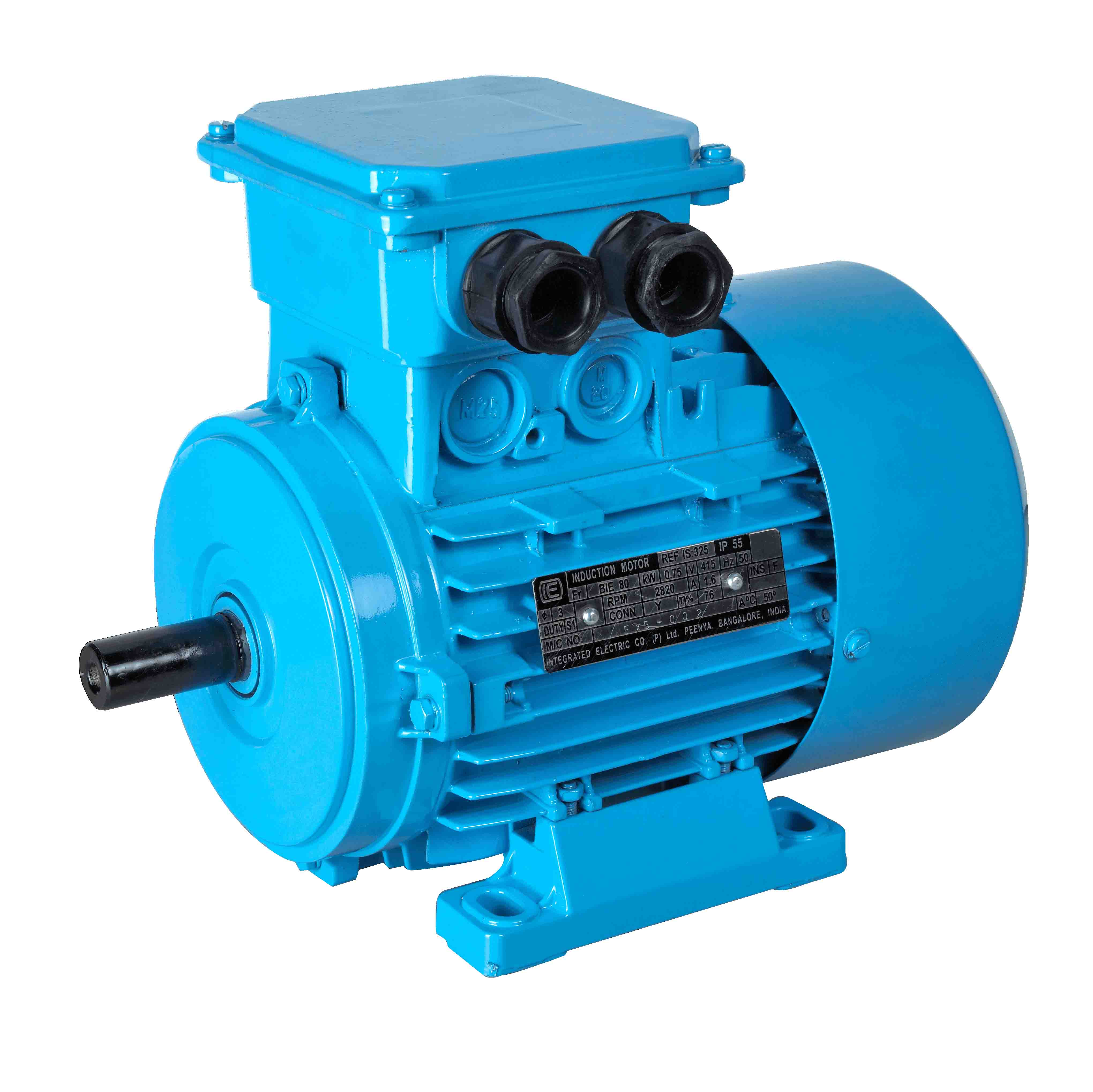 Iec integrated electric manufactures ac motors of for Standard motor kw ratings